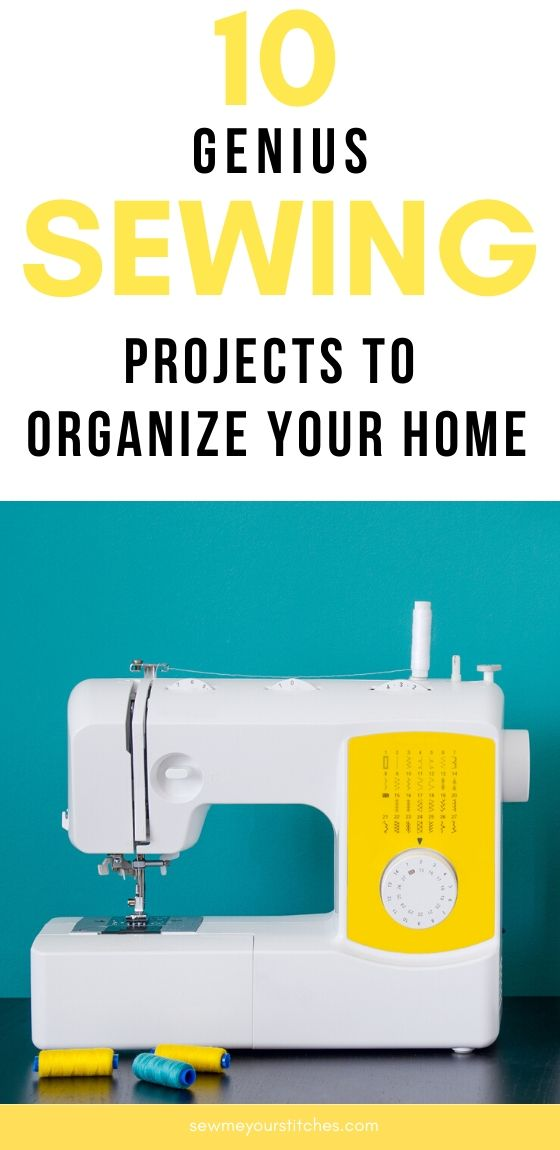 home organization sewing projects