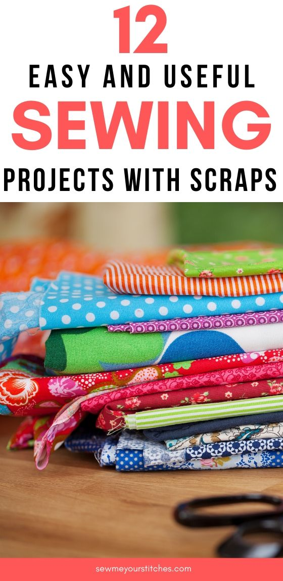 how to use scrap fabric