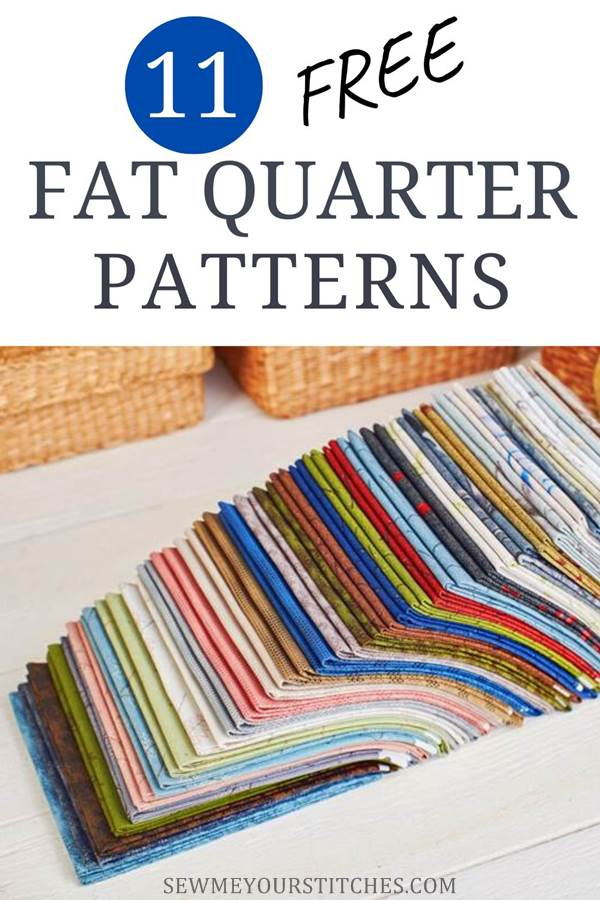 Free fat quarter patterns