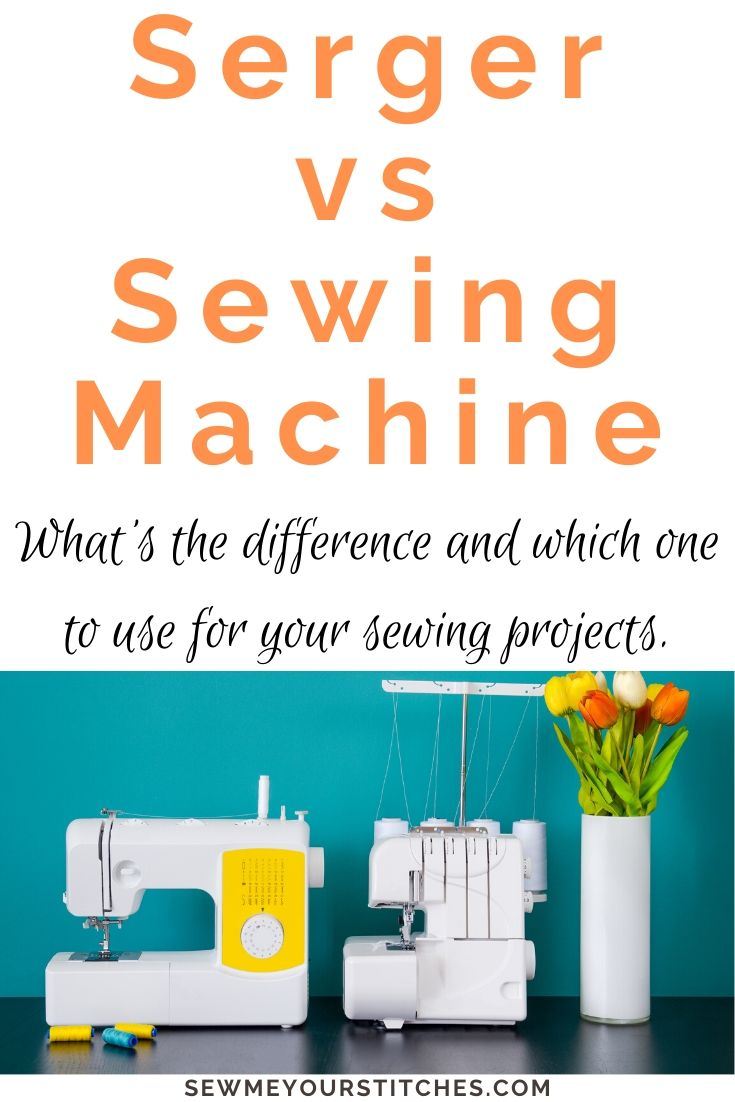 sewing machine vs serger