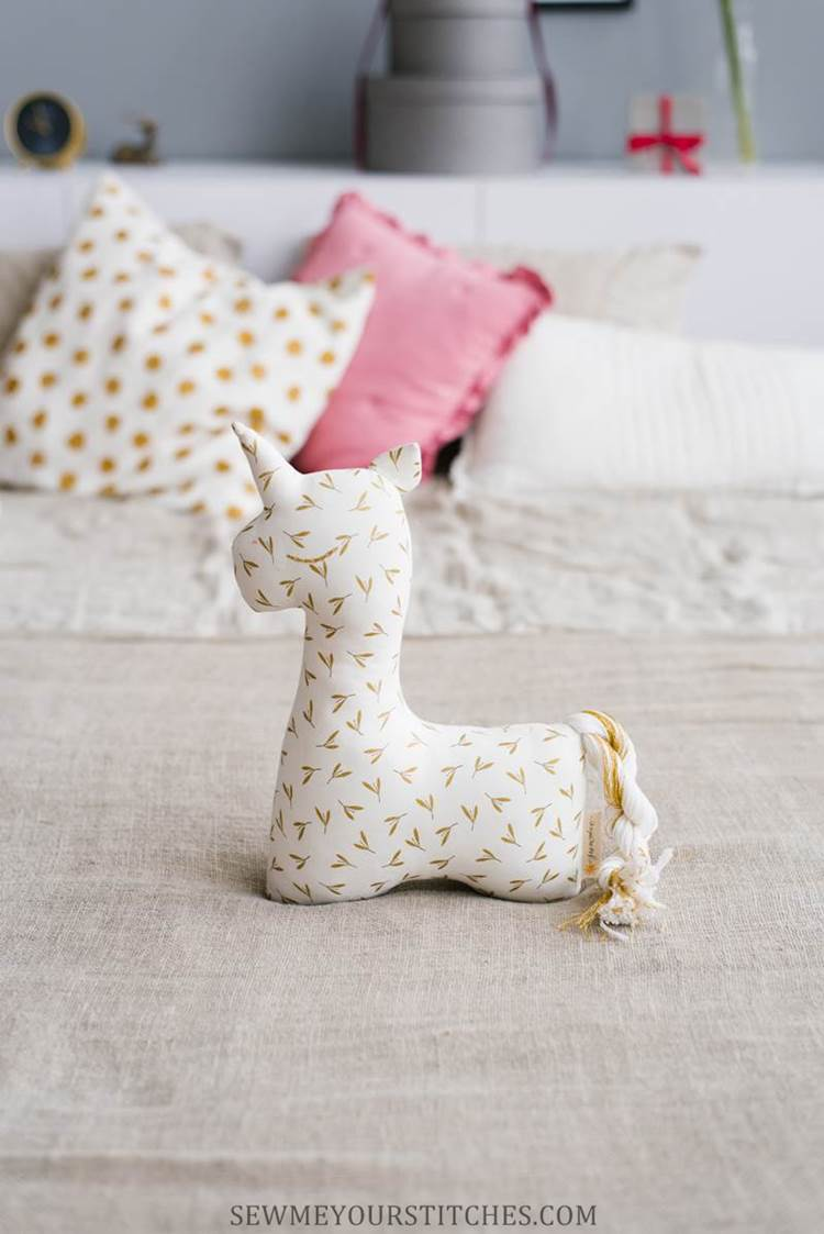 unicorn stuffed animal pattern